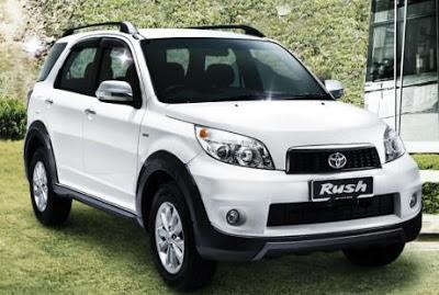 Harga Toyota Rush Medan