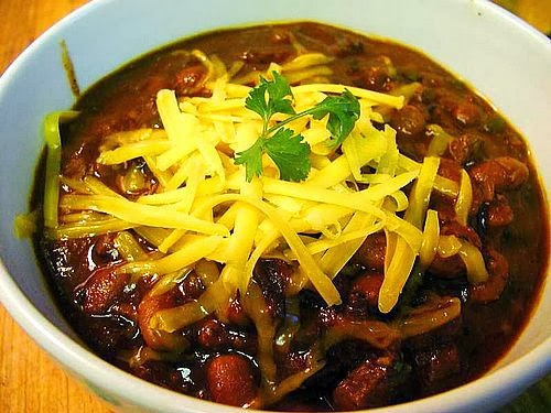 Weight Watchers Slow Cooker Chunky Beef & Bean Chili