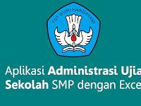 Aplikasi Administrasi Ujian Sekolah SMP dengan Excel