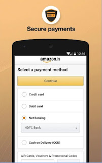 Amazon India Online Shopping apk secure payment