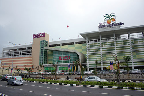 Traveling Aeon Seberang Prai City Shopping Centre