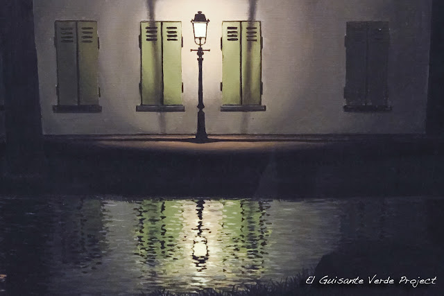 Detalle de The Dominion of light, Museo Magritte - Bruselas, por El Guisante Verde Project
