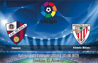 Prediksi Huesca vs Athletic Bilbao 19 Februari 2019