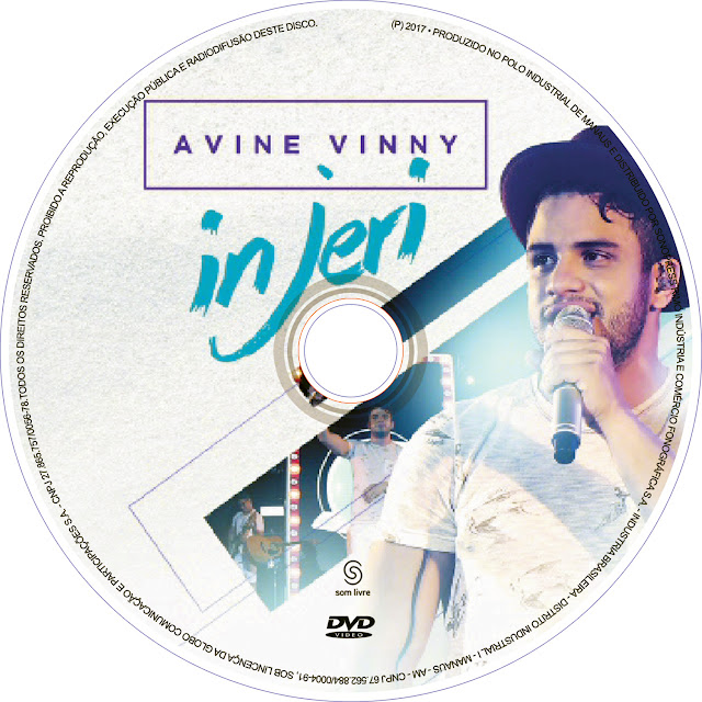 Label DVD Avine Vinny In Jeri