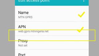 Mtn Internet Setting For High Speed