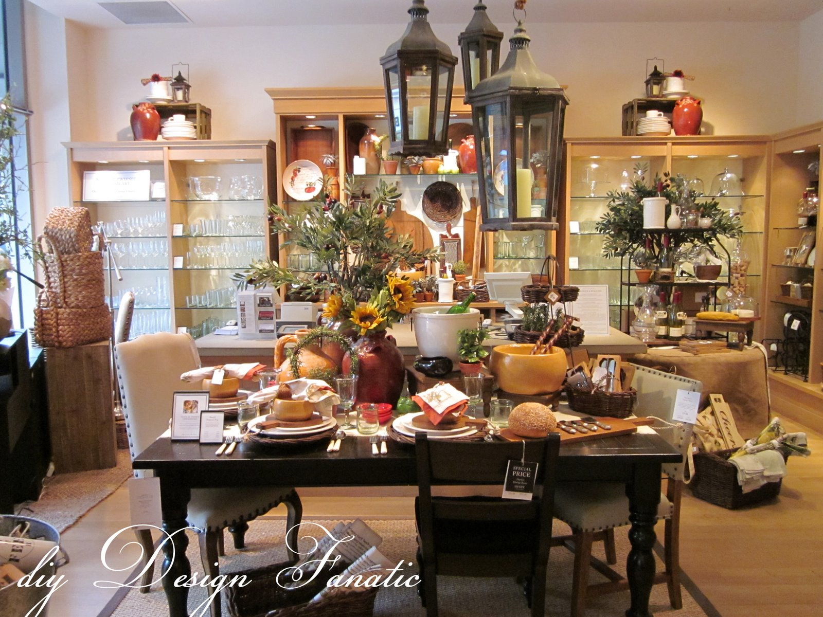 Cooler temps and a visit to pottery barn charleston is for Store for home decor