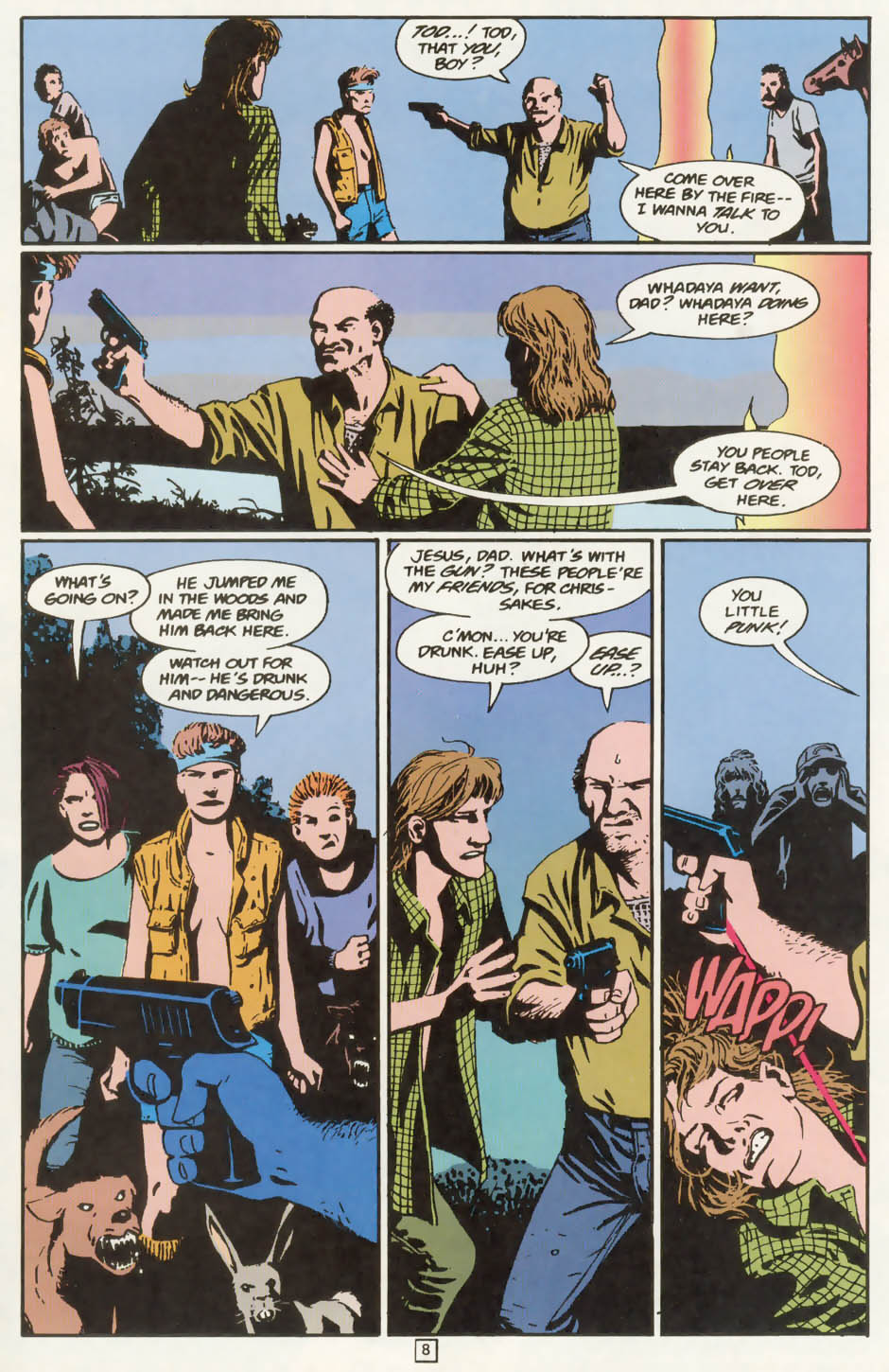 Read online Animal Man (1988) comic -  Issue #77 - 9