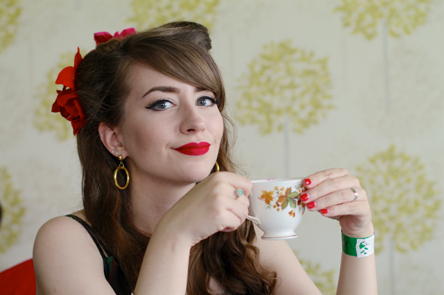 Tea and cake, vintage carnival 2017