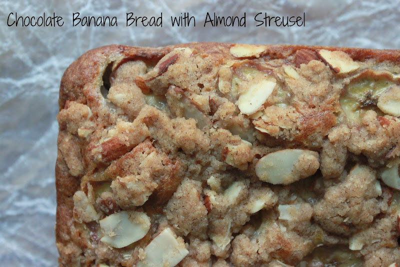 Annie's City Kitchen: Chocolate Banana Bread with Almond
