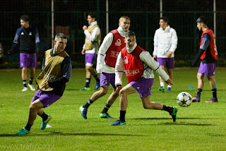 trening drugiej druzyny Realu Madyt