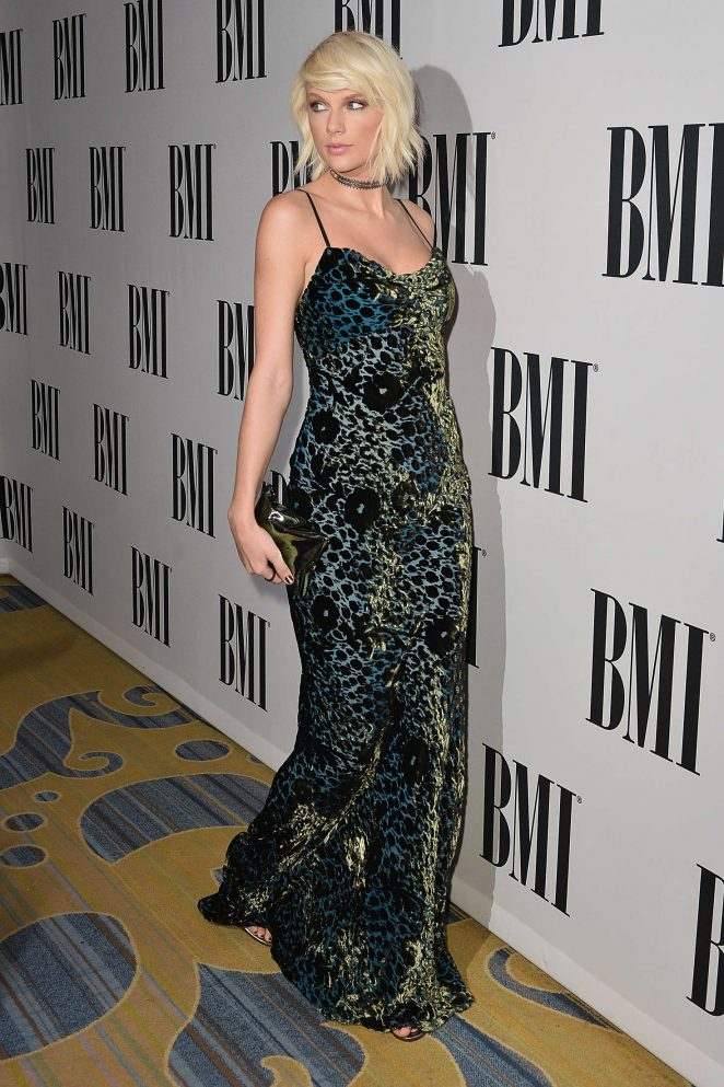 Taylor Swift – 64th Annual BMI Pop Awards 2016 in Beverly Hills