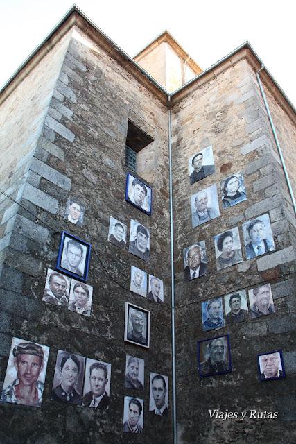 detalle de la iglesia de Mogarraz