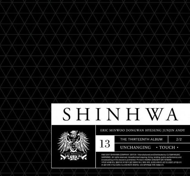 神話SHINHWA第13張正規專輯《UNCHANGING - TOUCH》韓國官方進口