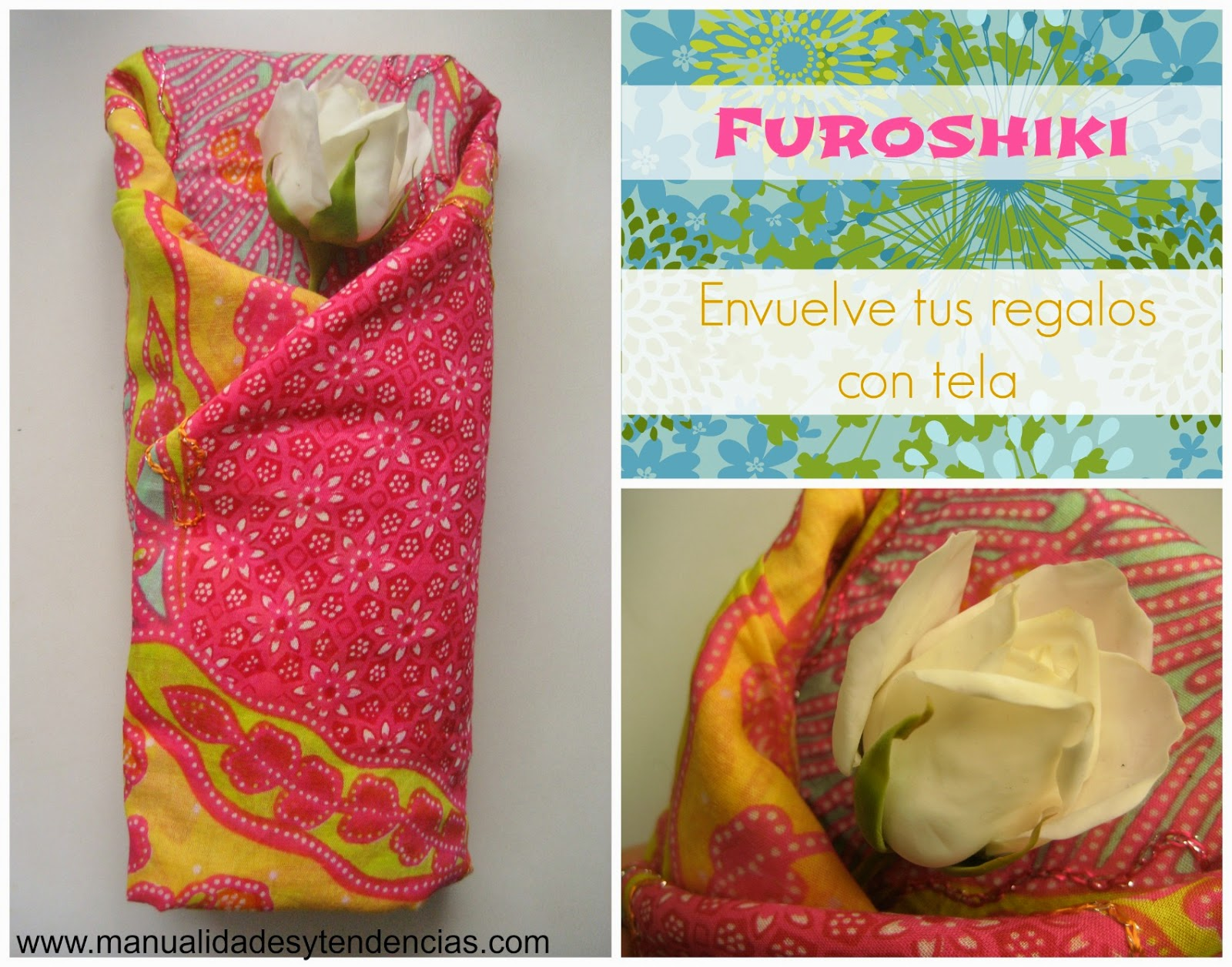 Furoshiki: cómo envoler paquetes con tela