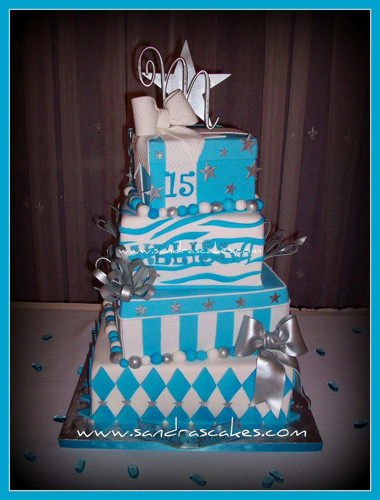 On Birthday Cakes Quinceanera Cake