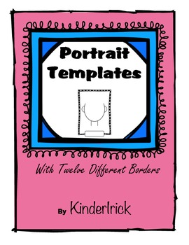 I can think of so many uses for these portrait templates!