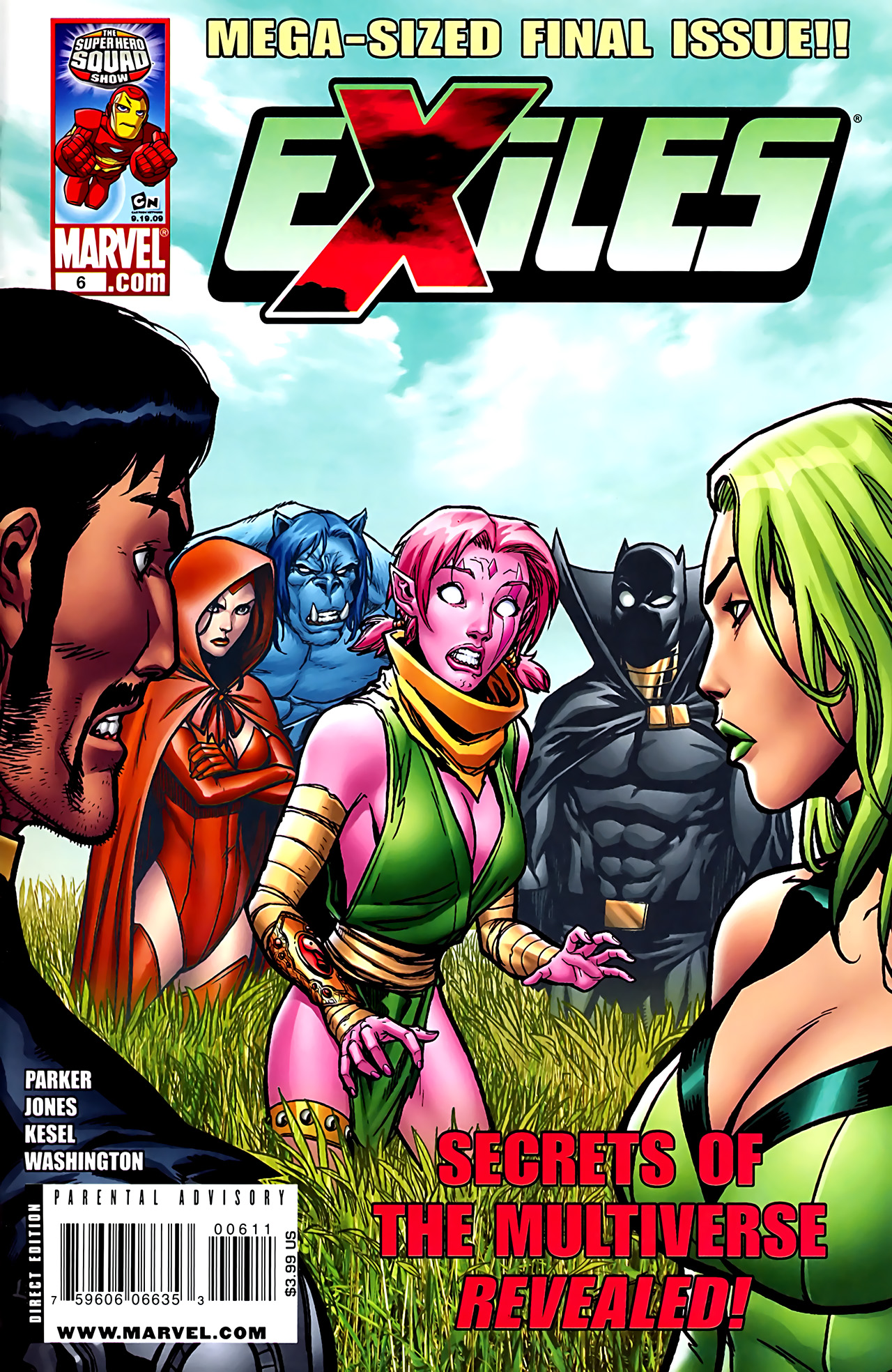 Read online Exiles (2009) comic -  Issue #6 - 1