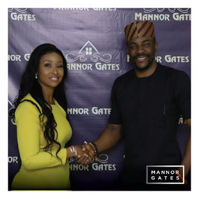 Signed, sealed & delivered! Mannor Gates unveils Ebuka Uchendu as Brand Ambassador