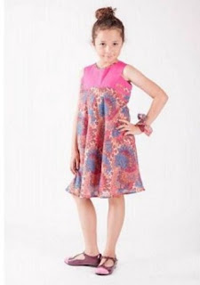 Dress batik anak modis