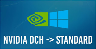 NVIDIA Standard vs DCH Display Drivers