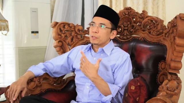 Usai Dukung Jokowi TGB Bicara tentang Masa Depannya di Demokrat