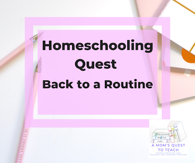 Pens, paper and Homeschooling Quest