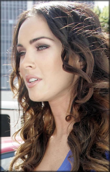 Megan Fox Hairstyle Old Hollyw Glamorous Hollywood Hair In