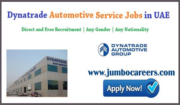Latest Jobs and Careers at Dynatrade Automotive Group Dubai UAE