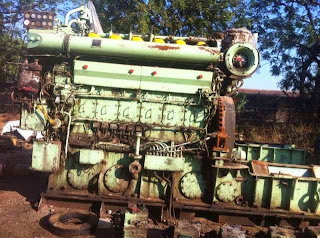 used yanmar HFO IFO using generators, 800 KVA, RPM, Engine, Motor, specification, fuel consumption