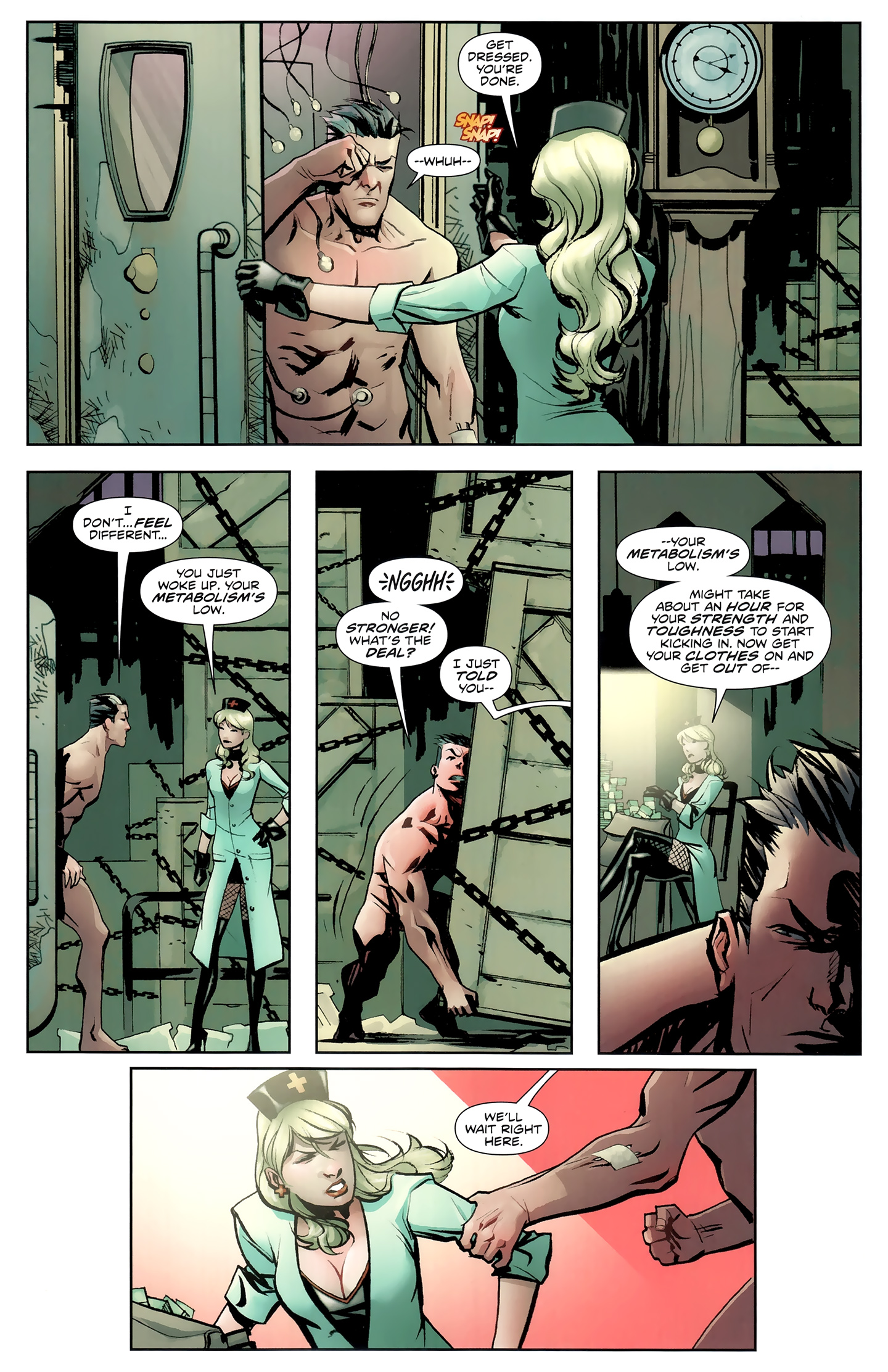 Read online Incorruptible comic -  Issue #26 - 8