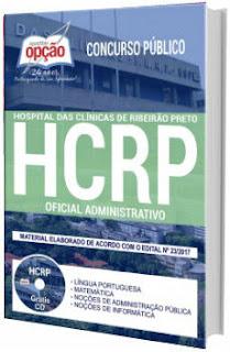 Apostila HCRP-SP 2017 Oficial Administrativo