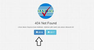 Login Sispena ban sm 2018