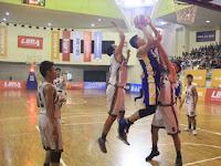 LIMA Basketball: Unnes Akhirnya Petik Kemenangan Perdana