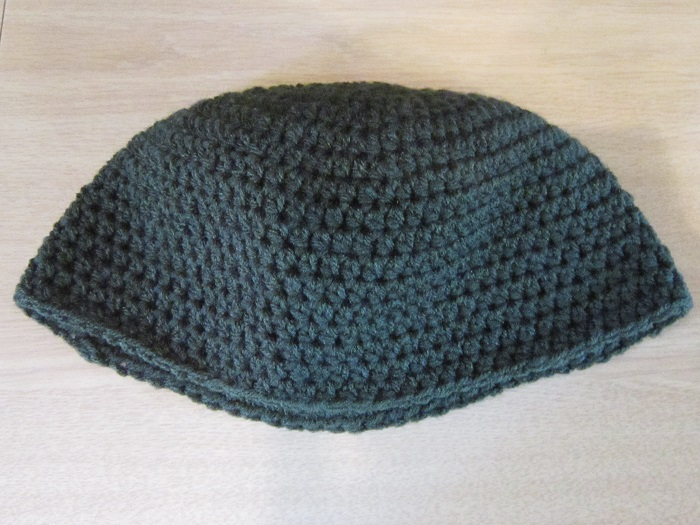 half double crochet, hat, frogging