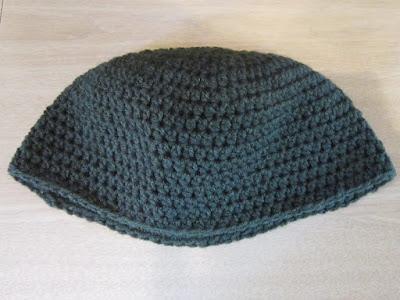 half double crochet, hat, frogging