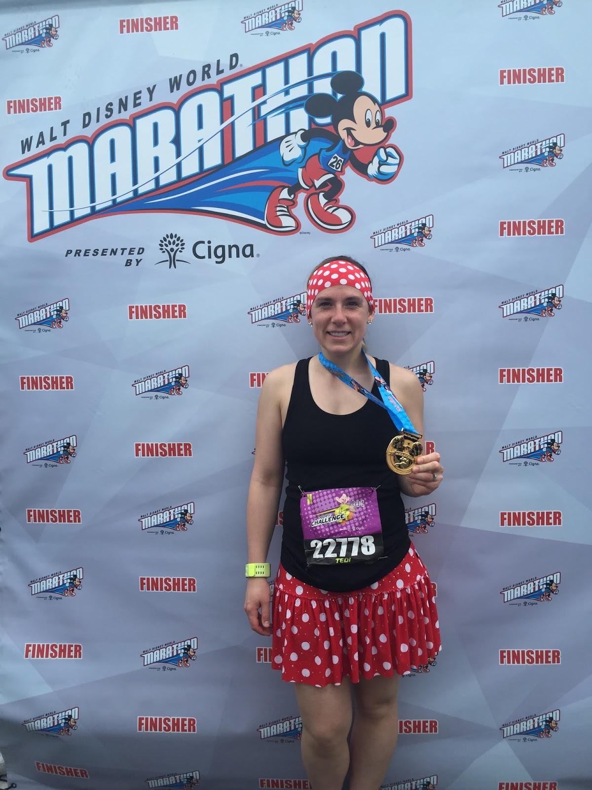 Dopey Challenge Mickey Marathon 2016 Marathon Finisher