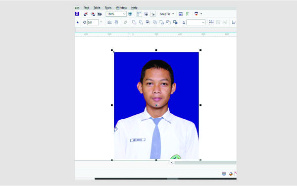 Cara Mudah dan Cepat Mengganti Background Foto di Corel Draw