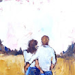 Artful Ideas: Back Pocket, Palette Knife Painting by Judy Mackey