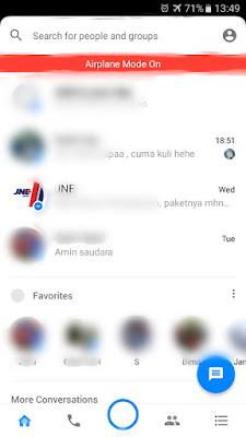 Begini Cara Mudah Buka Pesan Facebook Messenger Tanpa Diketahui Pengirim