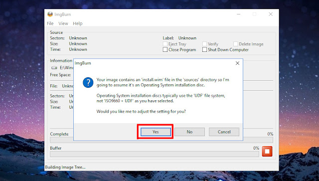 Cara Membuat Bootable File ISO Windows