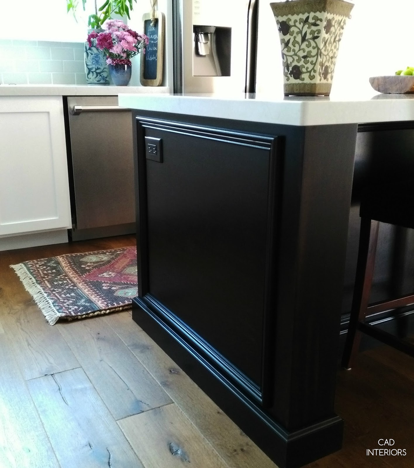 professional stainless steel appliances home improvement kitchen renovation remodel wide plank wood floors