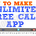 UNLIMITED FREE CALL APP - PEN | ANDROID TAMIL