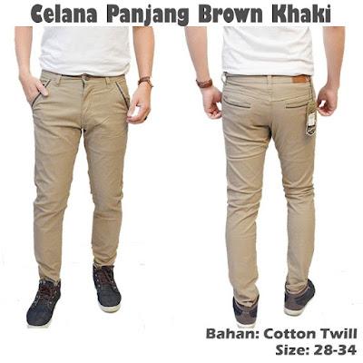 Celana Panjang Khaki