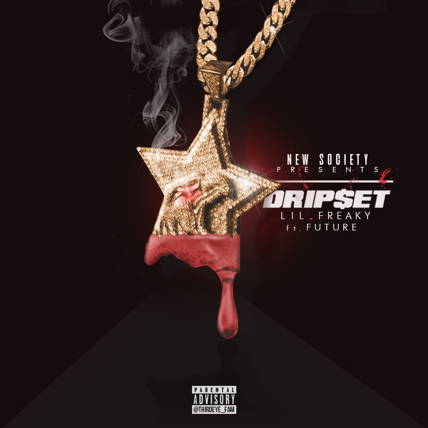 Lil Freaky - Dripset (feat. Future) - Single Cover
