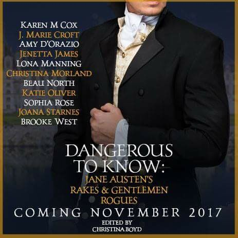 Cover Reveal- Dangerous to Know: Jane Austen's Rakes and Gentleman Rogues