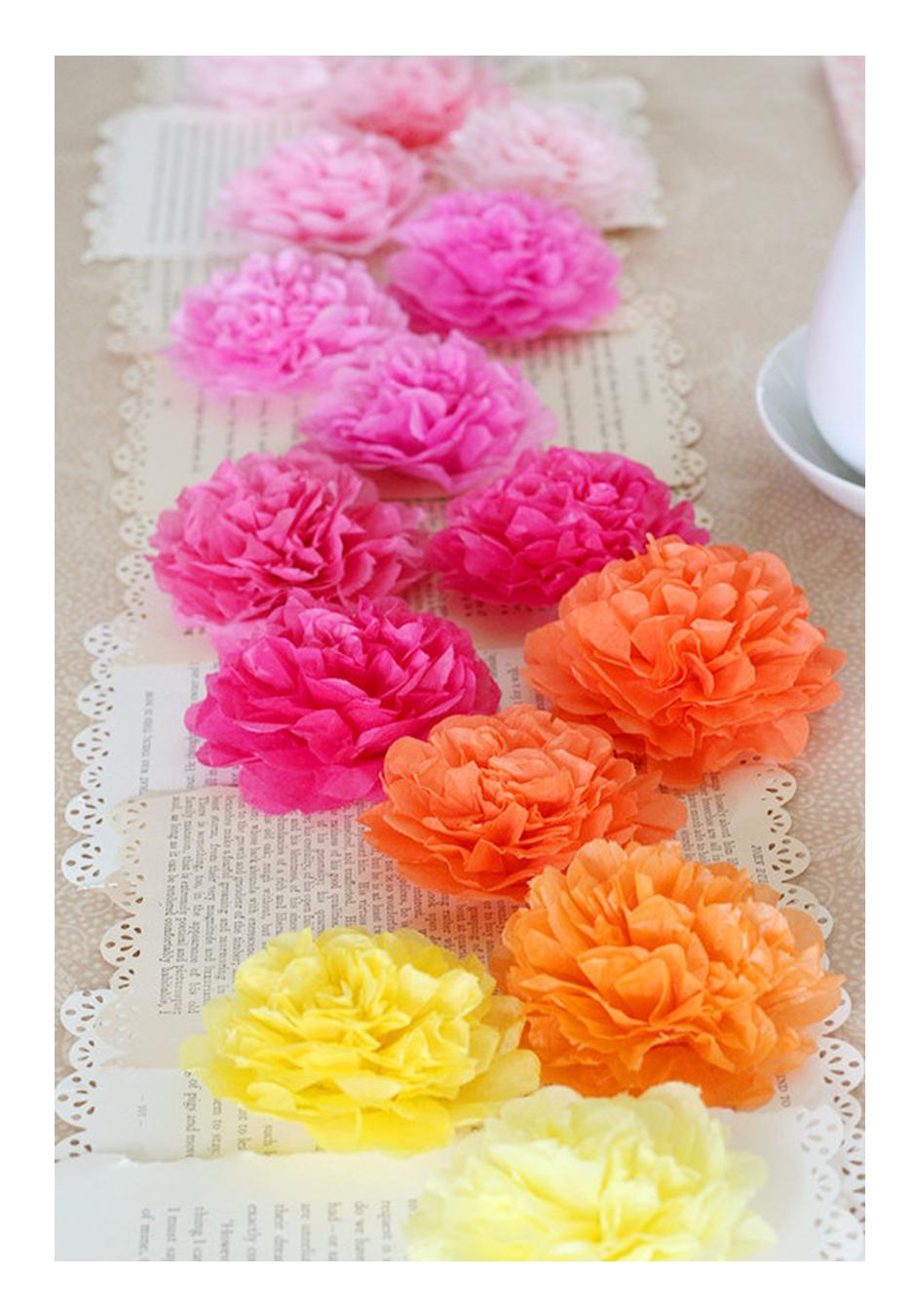 It 39 s written on the wall party decorations pretty and for Flower decoration made of paper