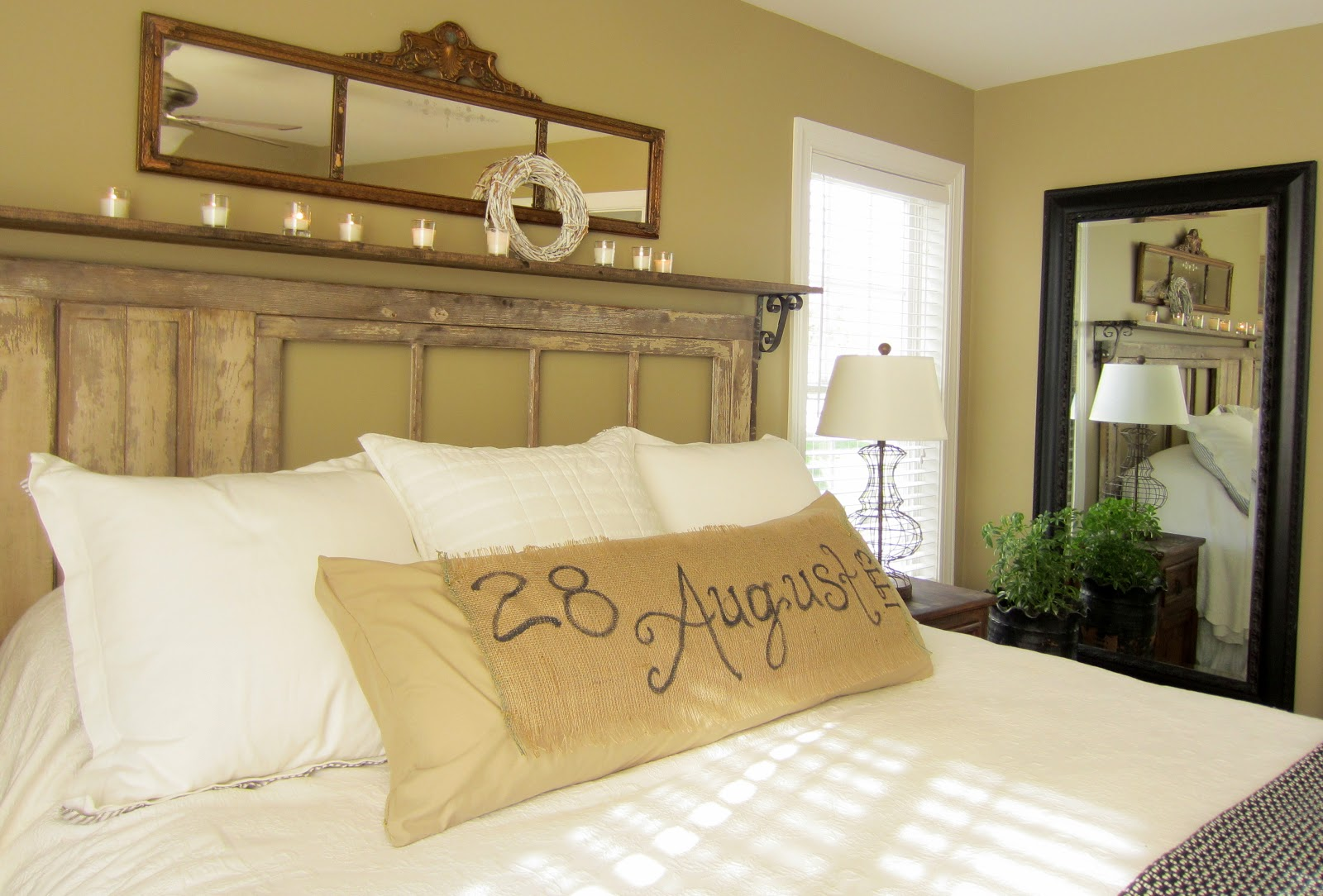 Romantic Master Bedroom Decorating Ideas: Down To Earth Style: {Vintage, Rustic Master Bedroom}
