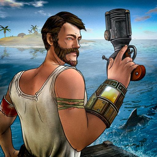 تحميل لعبة The Last Maverick: Survival Raft Adventure v1.157 مهكرة للاندرويد نقود لا تنتهي