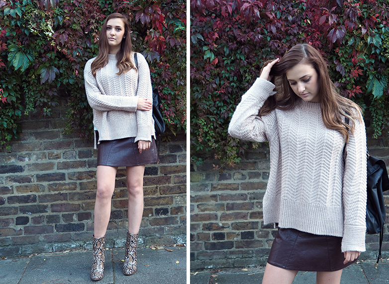 The Chunky Knit // Autumn Fall Fashion Style Outfit OOTD WIWT trend // Lauren Rose