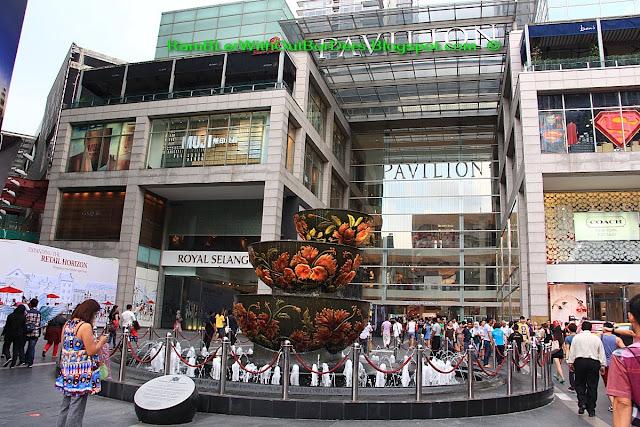 Pavilion Crystal Fountain, Pavilion Mall, Bukit Bintang, KL, Malaysia